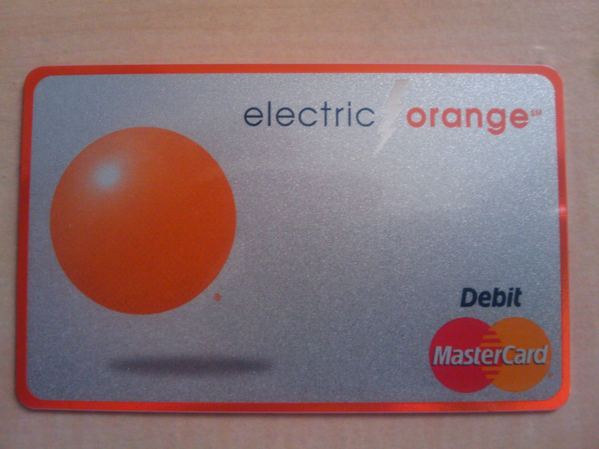 ING's New Debit Card For Electric Orange Checking Accounts